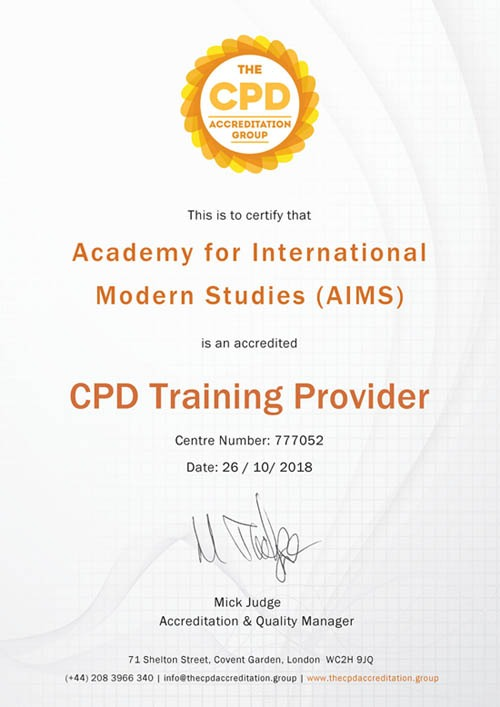 cpd accreditation aims